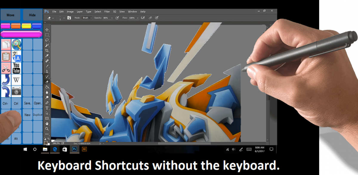 keyboard shortcuts from pictures