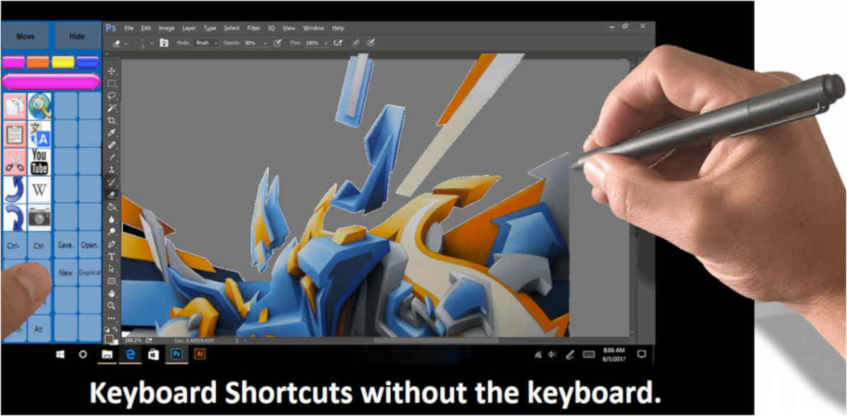 paint tools for surface pro 3 tablet