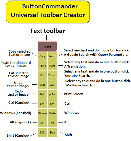 text toolbar
