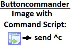 image with shortcut command script